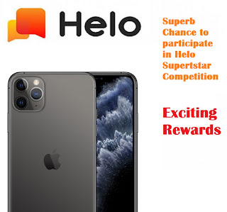 Superb Chance to participate in Helo Superstar Competition