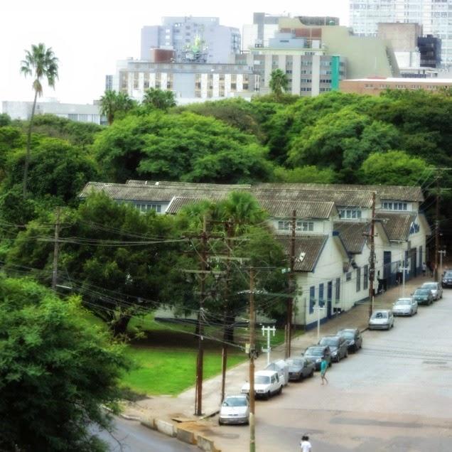 Museu do Trabalho visto do Alto do Centro Cultural Usina do Gasômetro