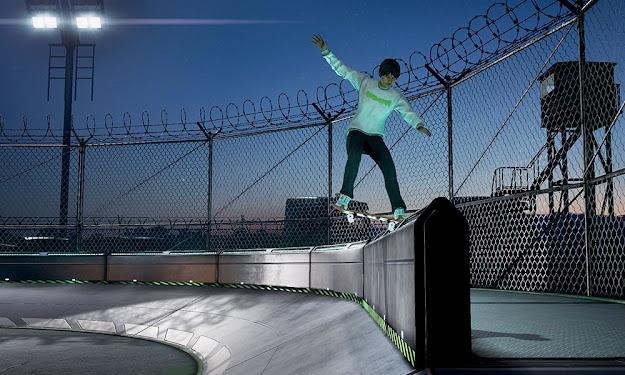 Tony Hawk's Pro Skater 1 + 2 skater in action