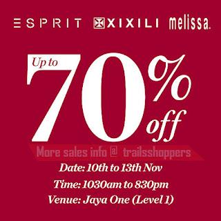 Esprit XIXILI Melissa Warehouse Sale 2016
