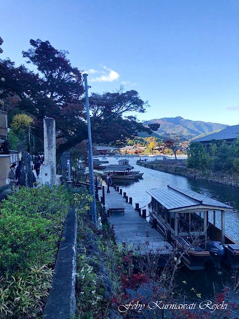 Keindahan Kyoto di Musim Gugur