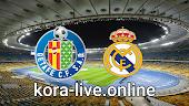 مباراة ريال مدريد وخيتافي بث مباشر بتاريخ 09-02-2021 الدوري الاسباني