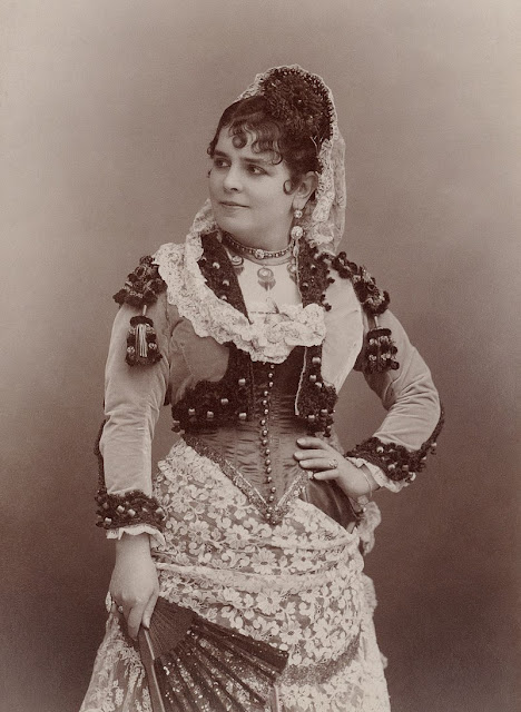Célestine Galli-Marié as Bizet's Carmen (Photo Nadar)