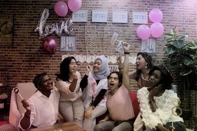 Cafe di Bintaro sebagai tempat event Bridal Shower