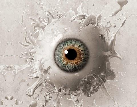Hình Nền Điện Thoại 3D Con Mắt Hư Thực