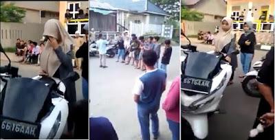 Video Warga Gerebek Mobil Bergoyang Di Banda Aceh, 6 Lelaki dan 2 Perempuan Dalam Mobil