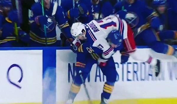 NHL Sabres Rangers Dahlin