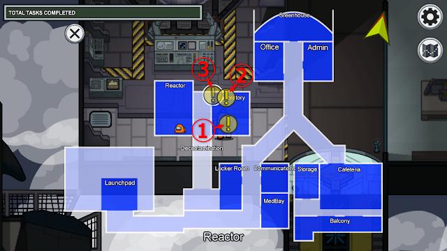 Laboratory(研究室)のタスクマップ説明画像