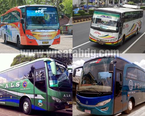 Inilah Alamat dan Nomor Kontak Bus Antar Kota Antar Provinsi (AKAP) di Bandung