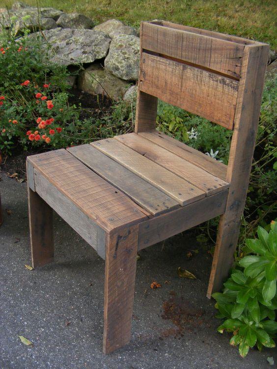 Reciclar reutilizar y reducir bancos y taburetes de madera - Bancos y taburetes ...