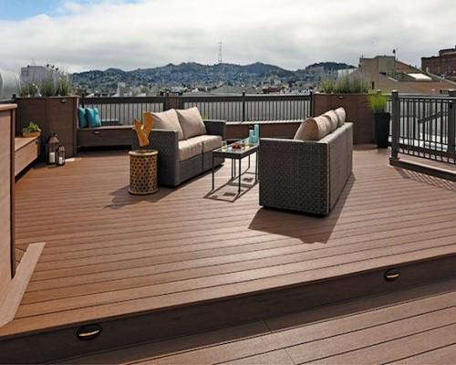 Sàn gỗ nhựa ngoài trời chịu nhiệt có tốt không?