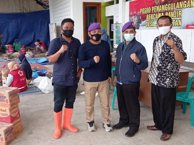 IARMI DPK Kudus Serahkan Bantuan Korban Banjir