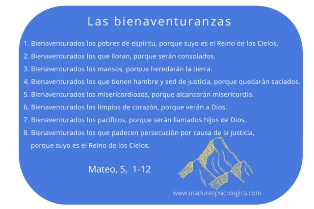 Las bienaventuranzas de Jesús, según san Mateo. Comprender las bienaventuranzas para madurar como cristianos