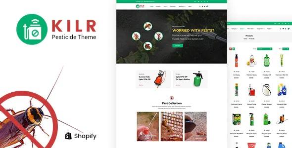 Pest Control Shopify Theme
