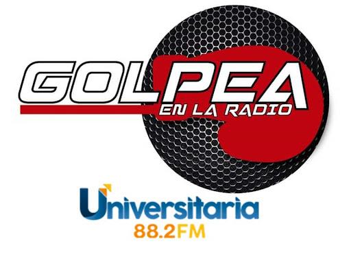 GOLPEA EN LA RADIO  Todos los Martes a las 19 horas de Colombia