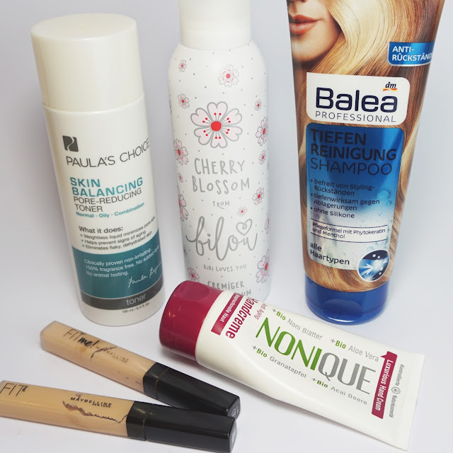 TOP Beauty: Paula's Choice, bilou, Balea, Nonique, Maybelline