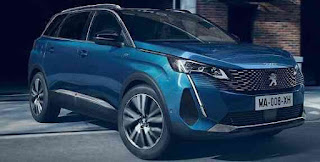 بيجو ٥٠٠٨ الجديدة فيس ليفت 2021 متعدة الاستخدامات Peugeot 5008