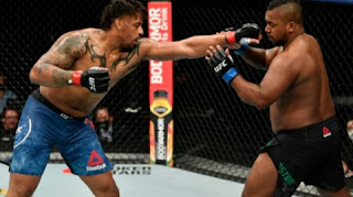 Greg Hardy wins another UFC fight with the help of Coronavirus, Daniel Cormier