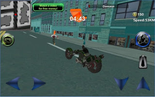 Game Police Sci Fi Bike Rider 3D Apk