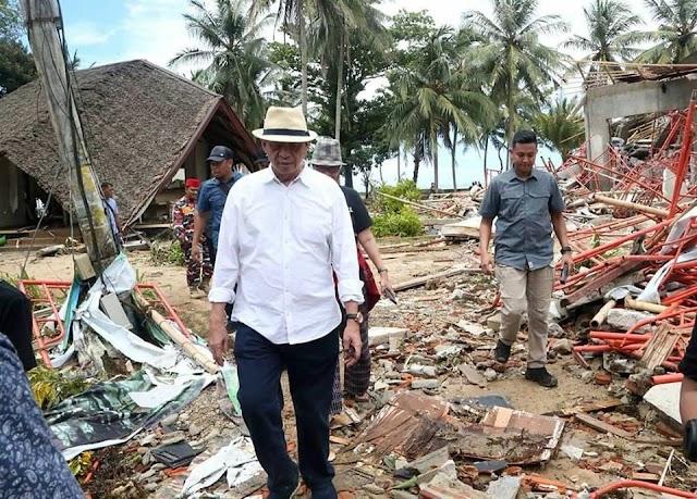 Gubernur: Akses Pulih, Korban Terisolir Tsunami Dipastikan Merima Bantuan