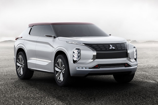 World Premiere of Ground Tourer SUV Mitsubishi GT-PHEV Concept