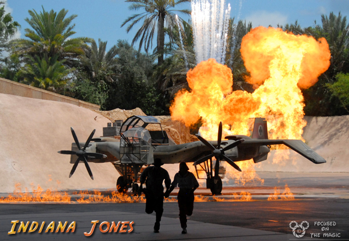 Indiana Jones Stunt Spectacular at Disney Hollywood Studios