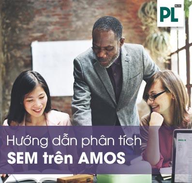 Hướng dẫn phân tích và đọc kết quả SEM trên AMOS