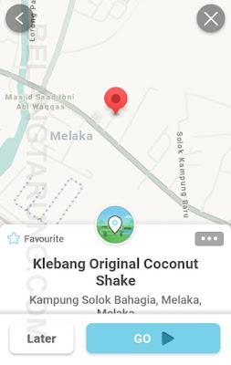Waze Klebang Original Coconut Shake