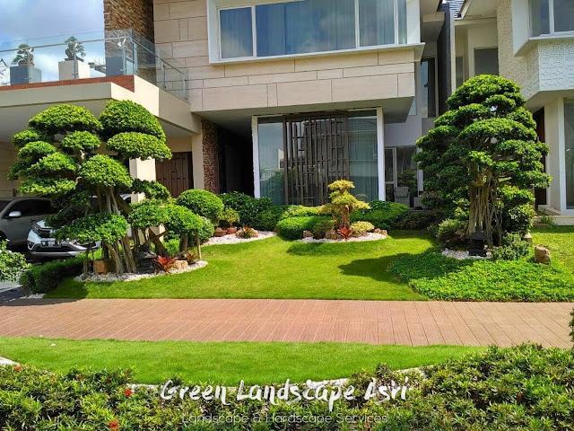 Jasa Bikin Taman Surabaya | Jasa Taman Green Landscape Asri
