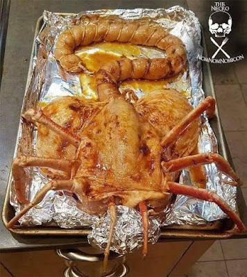 Ekelhaftes Essen witzig Alien