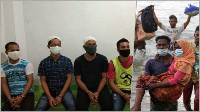 Tolong Warga Rohingya di Laut, Nelayan Aceh Dihukum 5 Tahun Penjara