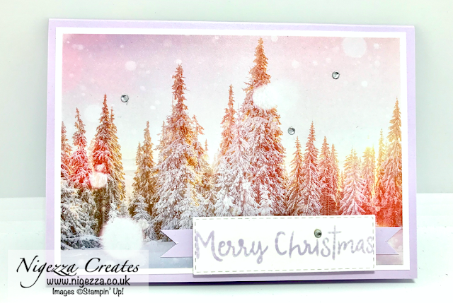 Feels Like Frost Christmas Card Stampin Up