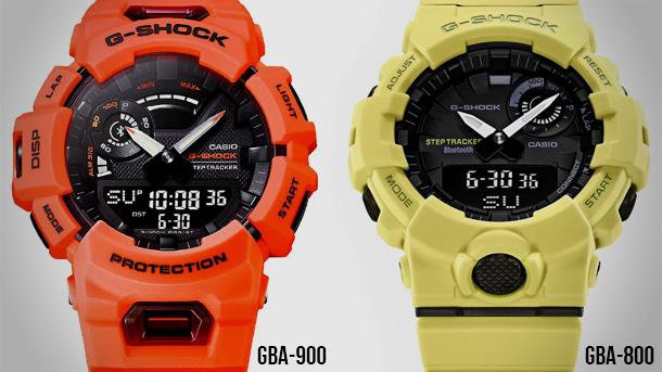 Casio G-Shock GBA-900 น้องใหม่ที่จะมาแทนที่ GBA-800