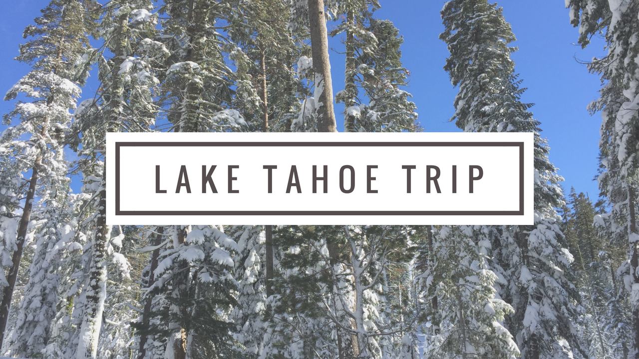 Lake Tahoe Trip Video