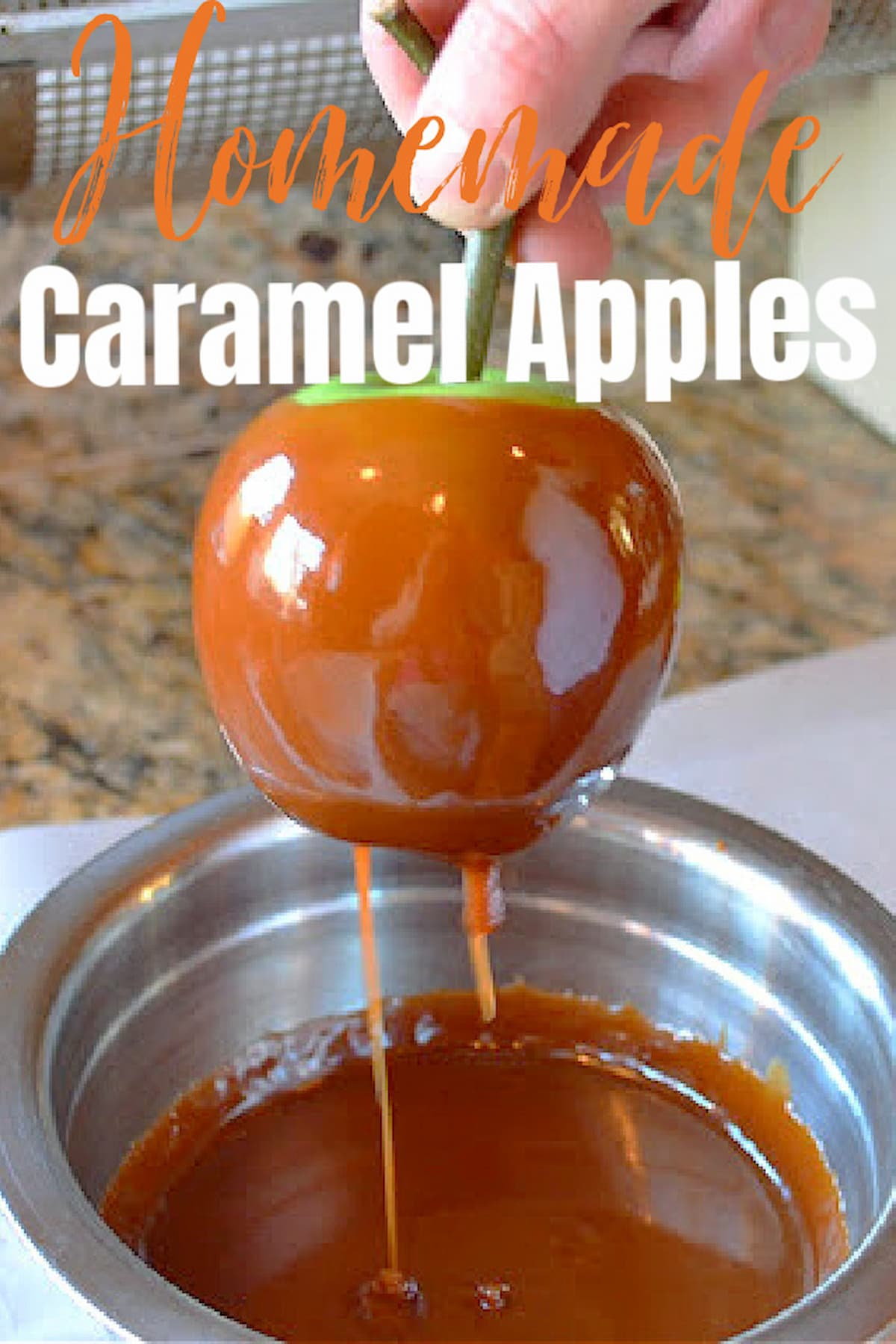How To Make Homemade Caramel Apples From Scratch
