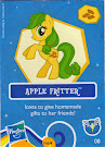 My Little Pony Wave 7 Apple Fritter Blind Bag Card