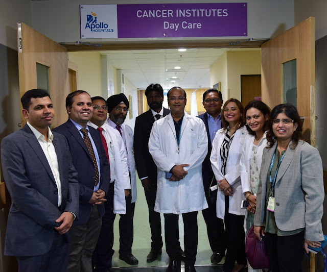 Highly qualified Team of Surgical, Medical and Radiation Oncologists at Launch of Apollo Cancer Institutes - Day Care, ahead of World Cancer Day_3rd Feb 2017
