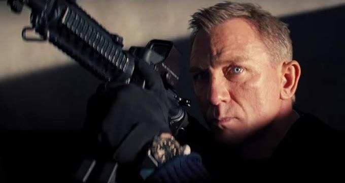 ダニエル・クレイグ主演シリーズ最終章「ノー・タイム・トゥ・ダイ」の上映時間が「007」史上最も長いことにひっかけて、「ノー・タイム・トゥ・トイレ🚽」といったジョークが流行‼️😄