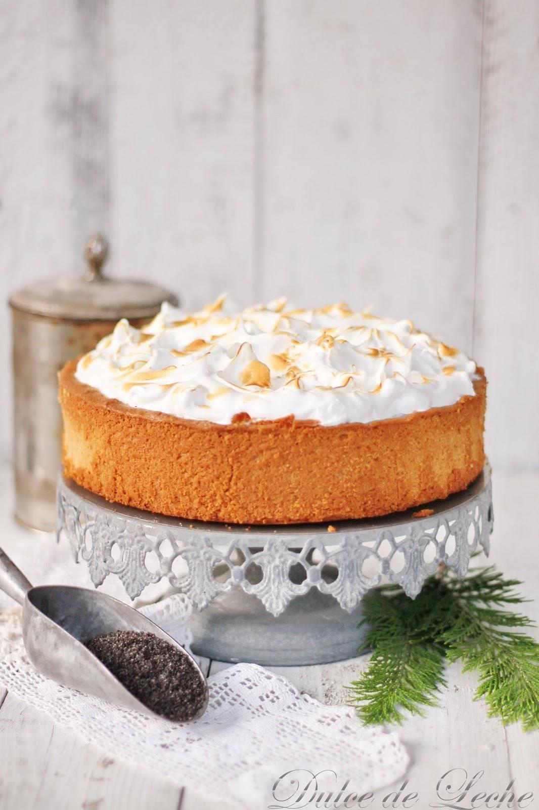 Marcipánovo makový koláč