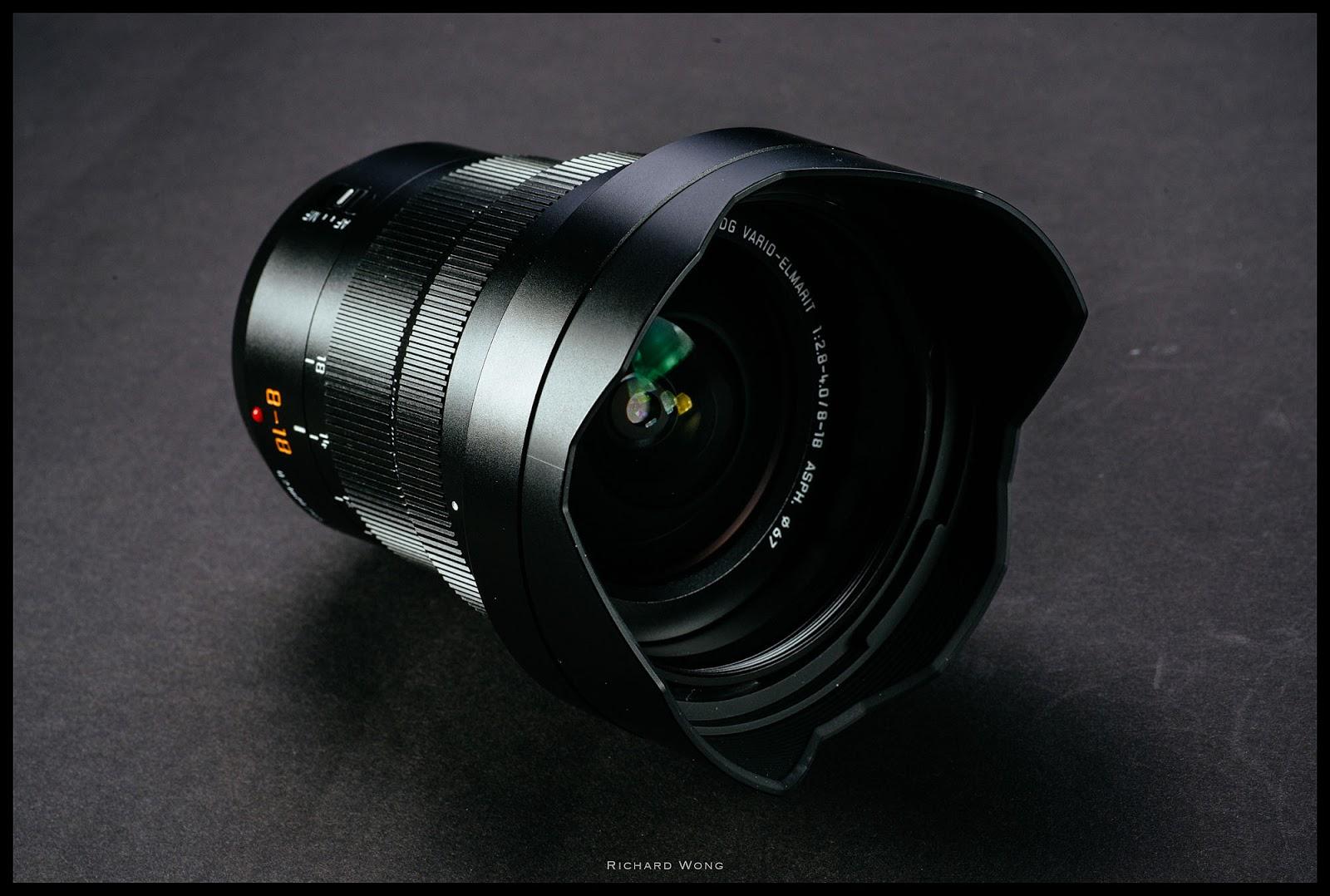 Leica DG Vario-Elmarit 8-18mm f/2.8-4.0 Asph, вид спереди