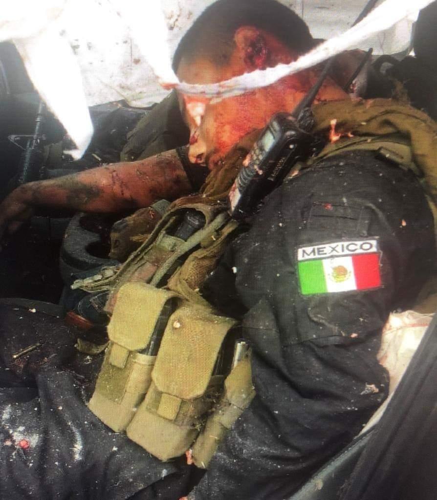 FOTOS: Así quedaron sicarios del CDN tras enfrentamiento con Militares en Nuevo Laredo 3