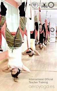 yogacreativo aerial yoga inversion pose benefits