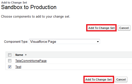 Infallible Techie: How to create Inbound changeset in