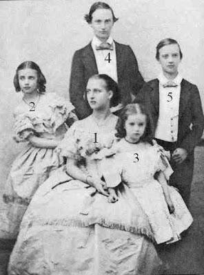 5 Children of Christian IX of Denmark