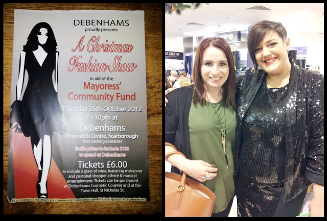 debenhams fashion show