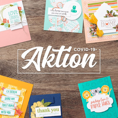 Stampin Up Covid-19-Aktion Corona-Spruch-Datei PDF