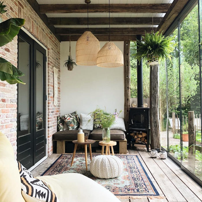 A Dreamy Patio for Relaxing- design addict mom #patio #plants