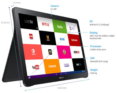 pictures of Samsung Galaxy View
