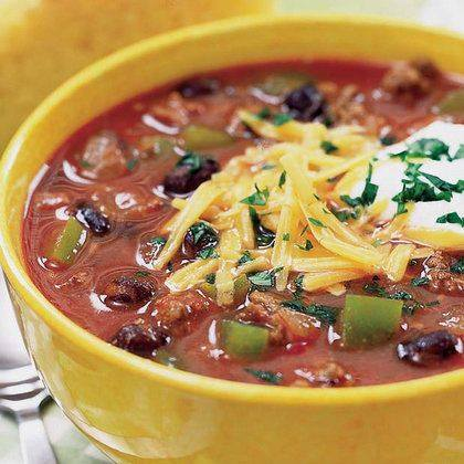 Baloo's Beef and Black Bean Chili