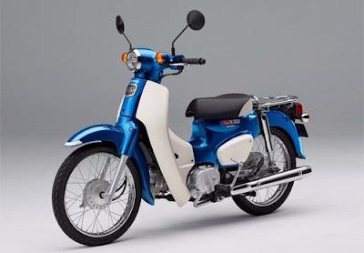Spesifkasi Dan Harga Honda Super Cub